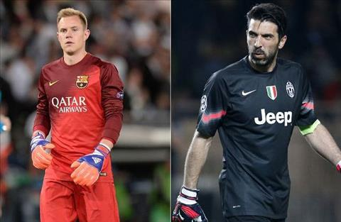 Truoc tran Juventus vs Barcelona Khi Marc hien ngang sanh vai cung Gigi hinh anh 3