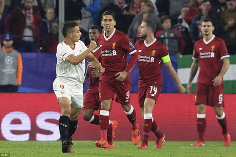 CLB Liverpool danh roi chien thang du da dan den 3 ban trong hiep mot.