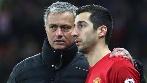 Mourinho bac bo tin don mau thuan voi Mkhitaryan hinh anh