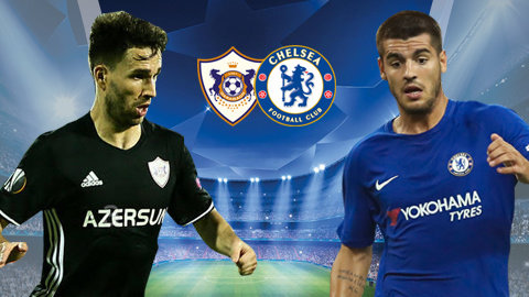 Nhan dinh Qarabag vs Chelsea 0h00 ngay 2311 (Champions League 201718) hinh anh