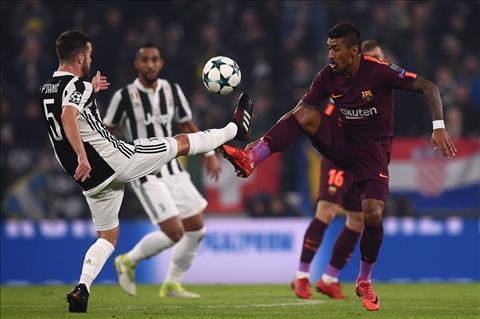 Nguoi Juventus hai long voi 1 diem truoc Barca hinh anh