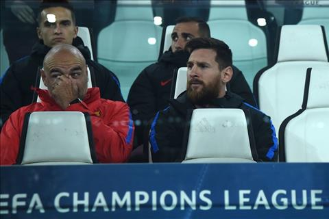 Ly do nao Messi phai ngoi du bi o dai chien voi Juventus hinh anh