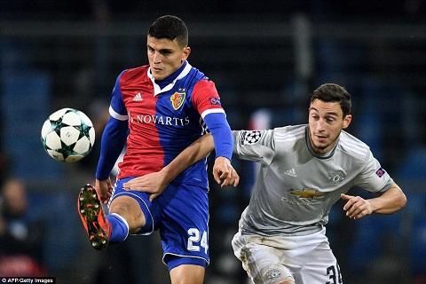 Darmian vs Basel