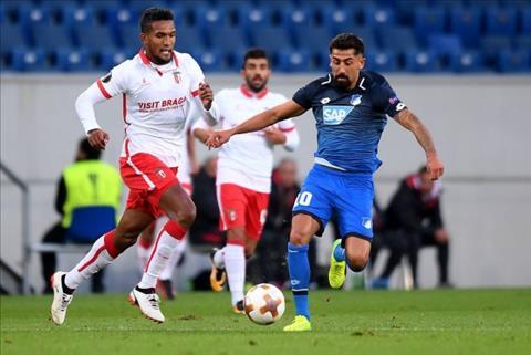 Nhan dinh Braga vs Hoffenheim 03h05 ngay 2411 (Europa League 201718) hinh anh