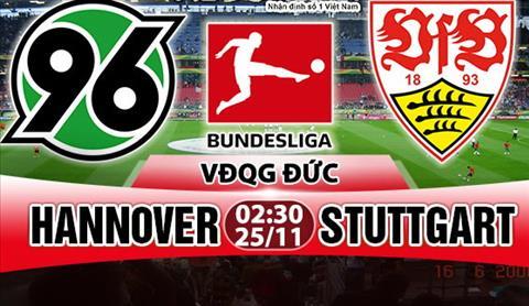 Nhạn dịnh Hannover vs Stuttgart 02h30 ngày 2511 (Bundesliga 201718) hinh anh
