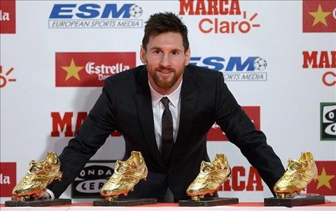 Messi chinh thuc can bang ky tich cua Ronaldo hinh anh