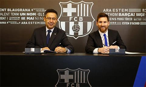 Lionel Messi gia han hop dong voi Barca Co sao phai chia ly hinh anh