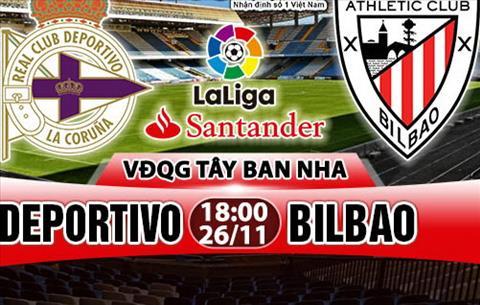 Nhan dinh Deportivo vs Bilbao 18h00 ngay 2611 (La Liga 201718) hinh anh
