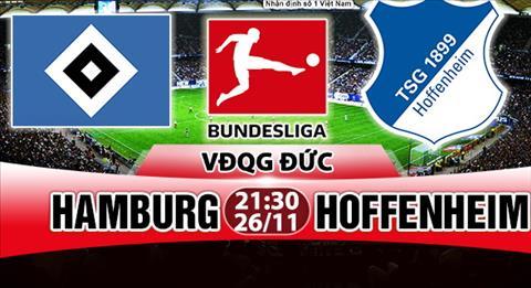 Nhan dinh Hamburg vs Hoffenheim 21h30 ngay 2611 (Bundesliga 201718) hinh anh