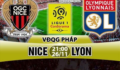 Nhan dinh Nice vs Lyon 21h00 ngay 2611 (Ligue 1 201718) hinh anh