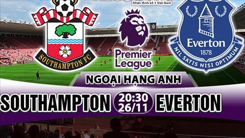 Nhan dinh Southampton vs Everton 20h30 ngay 2611 (Premier League 201718) hinh anh