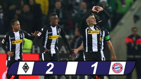Gladbach 2-1 Bayern Munich That bai dau tien cua trieu dai Heynckes hinh anh