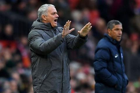 Mourinho vs Brighton