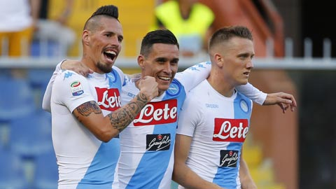 Nhan dinh Udinese vs Napoli 21h00 ngay 2611 (Serie A 201718) hinh anh