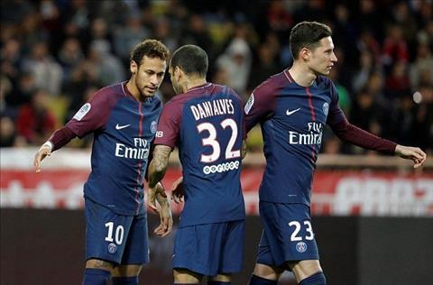 Monaco 1-2 PSG Dang cap cua Neymar, ban nang cua Cavani hinh anh