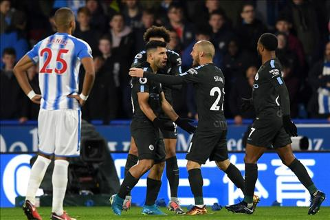 Nhung thong ke an tuong sau tran Huddersfield 1-2 Man City hinh anh