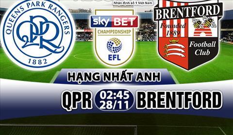 Nhan dinh QPR vs Brentford 2h45 ngay 2811 (Hang Nhat Anh 201718) hinh anh