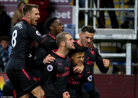 Wenger noi gi sau tran Burnley 0-1 Arsenal hinh anh
