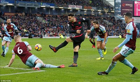 Du am Burnley 0-1 Arsenal Ngon ngang nhung van de hinh anh