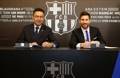 Sao Barca Gia han hop dong, Messi van co the ra di hinh anh