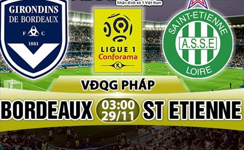 Nhan dinh Bordeaux vs StEtienne 03h00 ngay 2911 (Ligue 1 201718) hinh anh