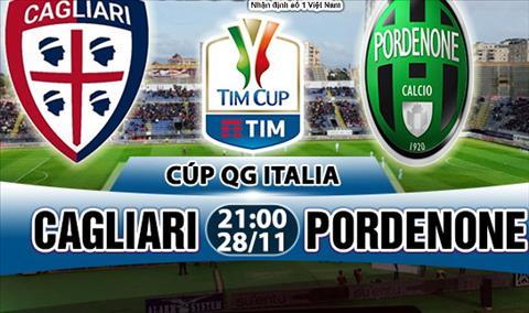 Nhan dinh Cagliari vs Pordenone 21h00 ngày 2811 (Coppa Italia 201718) hinh anh