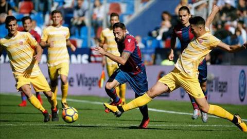 Nhan dinh Levante vs Girona 3h30 ngay 2911 (Cup Nha vua TBN 201718) hinh anh
