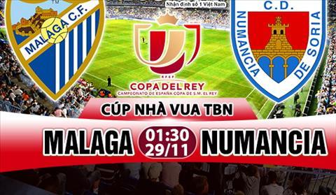 Nhan dinh Malaga vs Numancia 01h30 ngay 2911 (Cup Nha vua TBN 201718) hinh anh