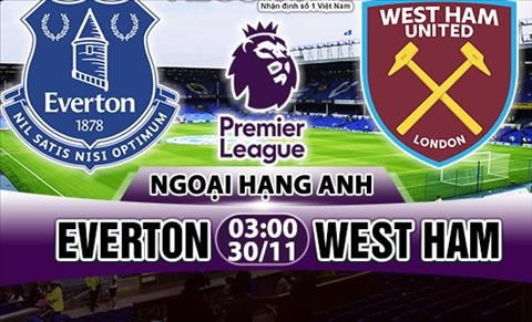 Nhan dinh Everton vs West Ham 03h00 ngay 3011 (Premier League 201718) hinh anh