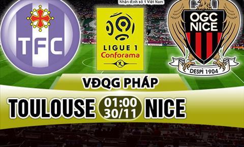 Nhan dinh Toulouse vs Nice 01h00 ngay 3011 (Ligue 1 201718) hinh anh