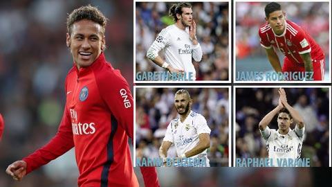 Real sap ban 4 ngoi sao de danh tien mua Neymar hinh anh