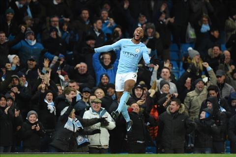 Sterling ghi ban quyet dinh cho Man City