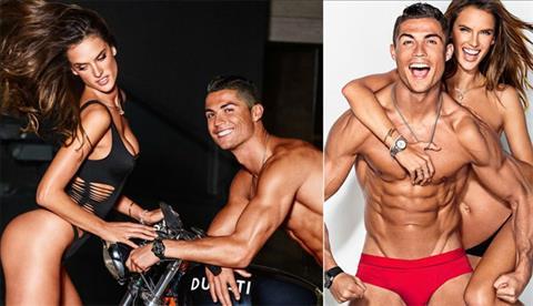 Sieu mau Victorias Secret muon cuoi Neymar va hon Ronaldo hinh anh