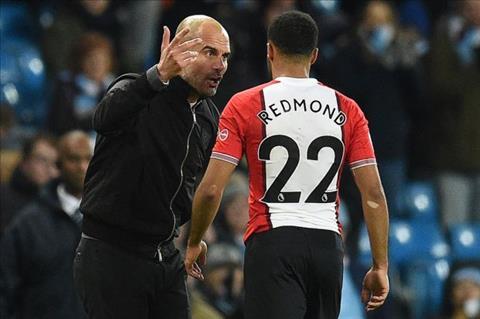 Pep Guardiola hoi han vi phan ung thai qua voi sao Southampton hinh anh