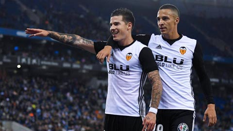 Nhan dinh Valencia vs Zaragoza 03h30 ngay 112 (Cup Nha vua TBN 201718) hinh anh