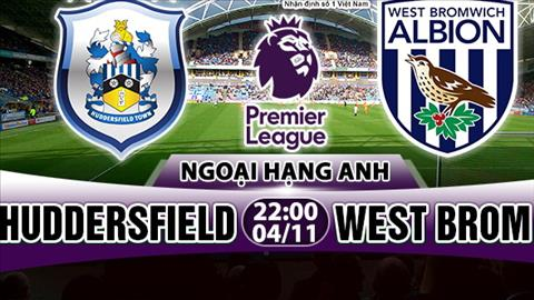 Nhan dinh Huddersfield vs West Brom 22h00 ngay 411 (Premier League 201718) hinh anh