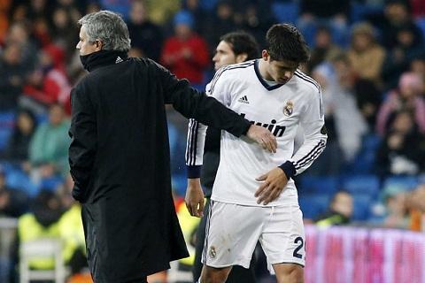 Morata That tuyet voi khi duoc choi cho Mourinho hinh anh