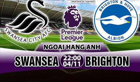 Nhan dinh Swansea vs Brighton 22h00 ngay 0411 (Premier League 201718) hinh anh
