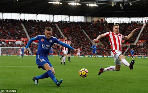 Tong hop Stoke 2-2 Leicester (Vong 11 NHA 201718) hinh anh