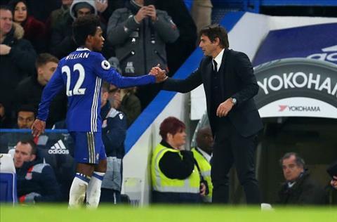 Tien ve Willian khong hanh phuc o Chelsea hinh anh
