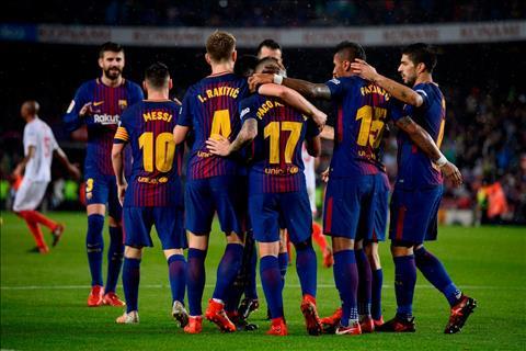 Barca 2-1 Sevilla Doi chu san Camp Nou lap ky luc hinh anh