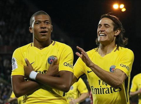 Angers 0-5 PSG Song sat Cavani vs Mbappe hinh anh