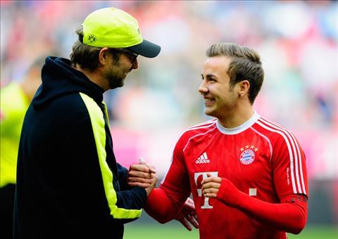 Mario Gotze muốn gia nhập Liverpool và tái hợp HLV Jurgen Klopp hình ảnh