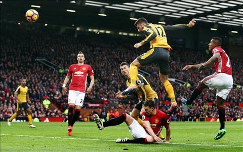 Arsenal vs Man Utd Tran dau mot ty bang dau tien trong lich su hinh anh