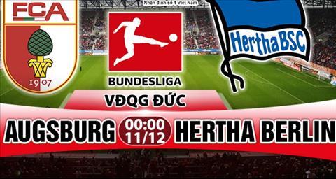 Nhan dinh Augsburg vs Hertha Berlin 00h00 ngay 1112 (Bundesliga 201718) hinh anh