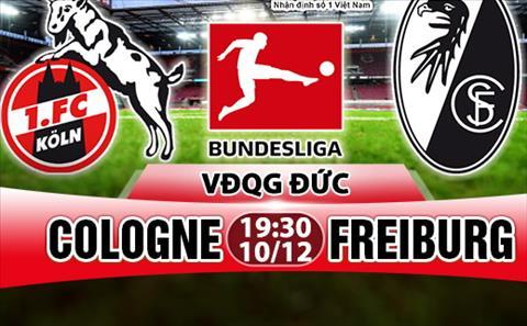 Nhan dinh Cologne vs Freiburg 19h30 ngày 1012 (Bundesliga 201718) hinh anh