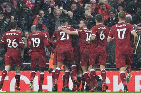 Du am Liverpool 1-1 Everton Tham hoa trung ve Lovren hinh anh