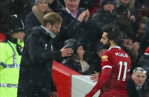 Klopp danh gia cao the luc cua tien ve Mohamed Salah hinh anh 2