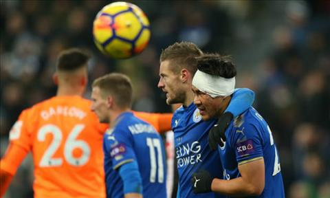 Tong hop Newcastle 2-3 Leicester (Vong 16 Premier League 201718) hinh anh