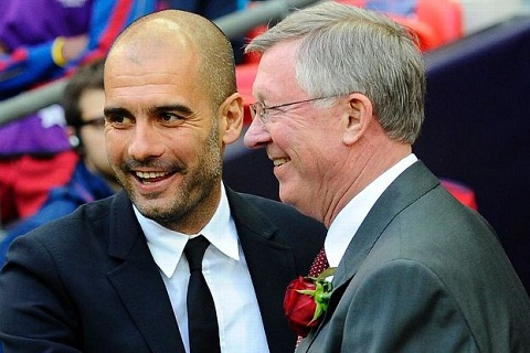 Pep va Sir Alex